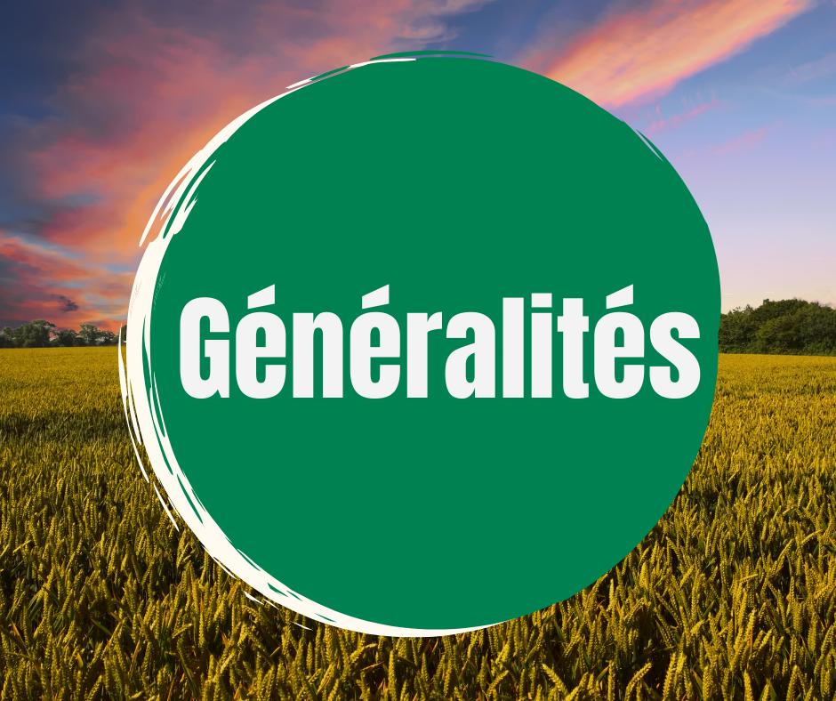 Generalites